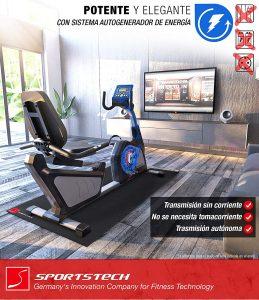 vélo d'appartement SportsTech ES600