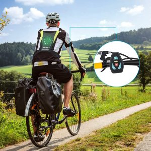 Gilet de cyclisme à LED Shenkey clignotant