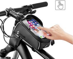 Test et avis sur la sacoche pour cadre de vélo Unibelin
