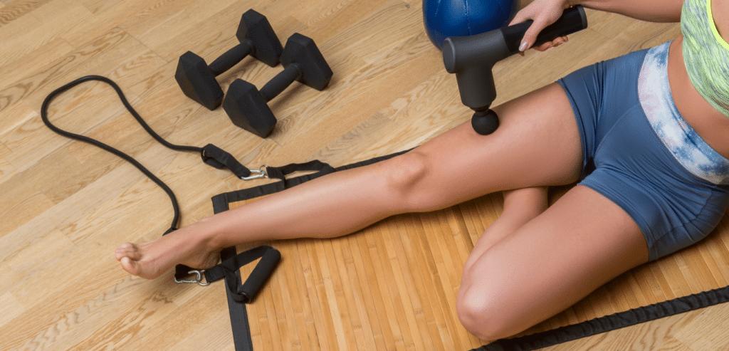 Pistolet de massage pour les jambes